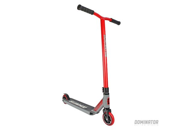 Dominator Ranger Scooter - Red / Grey