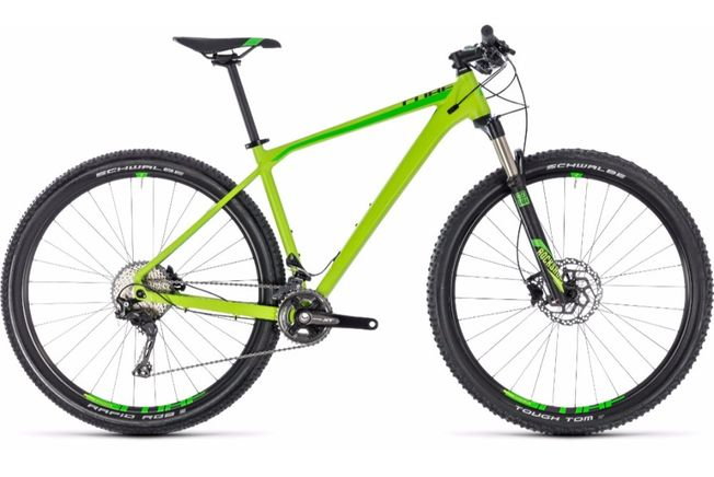 Cube Reaction Pro 29er Green 2018 Bikes