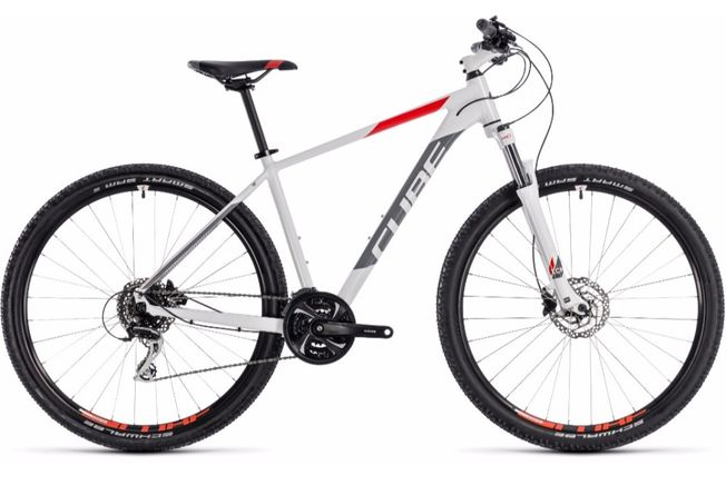 Cube Aim Race 29er 2018 Bike White
