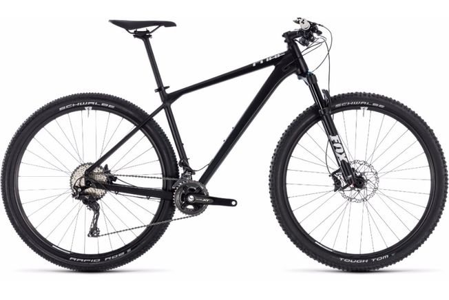 Cube Reaction SL 29 er Black 2018
