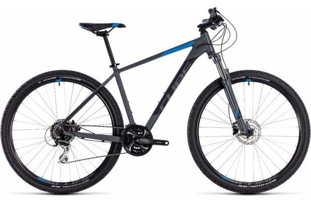 Cube Aim Race 29er Grey/blue 2018 Bike