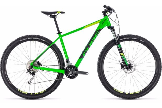 Cube Analog 29er Green 2018 Bike