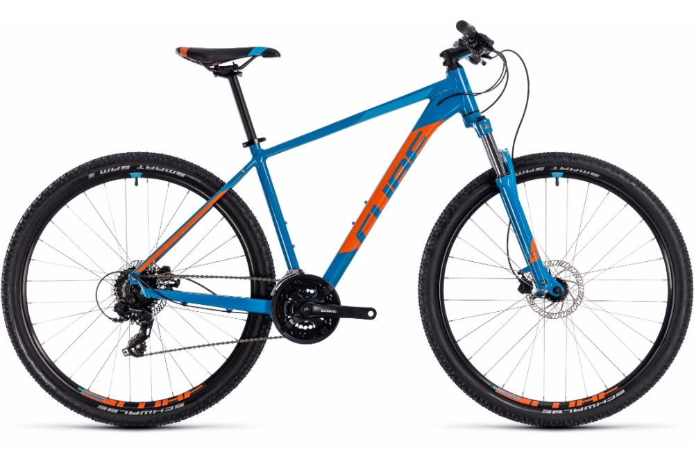 Cube Aim Pro 29er 2018 Bike Blue/orange