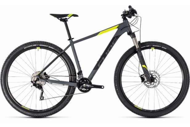 Cube Attention SL 29er Grey 2018 Bike