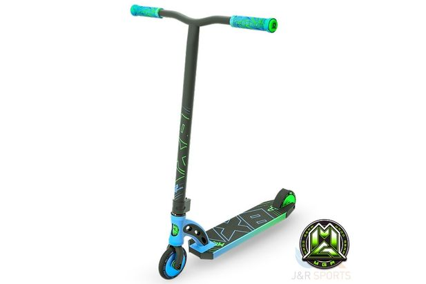 MGP VX8 PRO Scooter Sky Blue /Lime